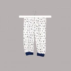 Пижама Bebetto с къс ръкав за бебе момче - F1097 - view 3