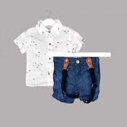 Комплект Bebetto с риза къс...