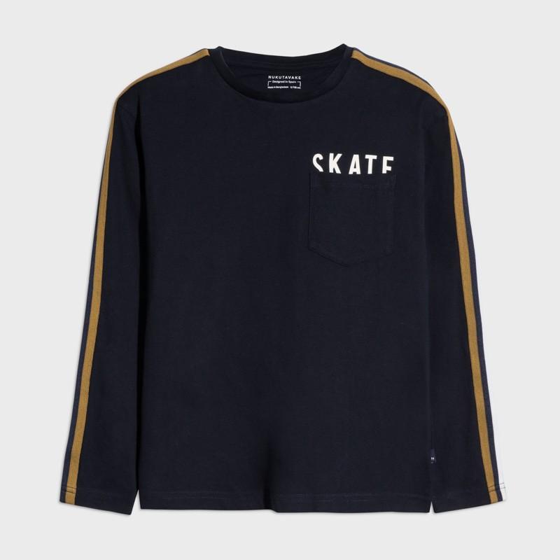 Детска тениска Mayoral с дълъг ръкав за момчета - 7045-083 - view 1