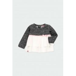 Детска комбинирана блуза Boboli за момичета - 241007-8116 - view 2