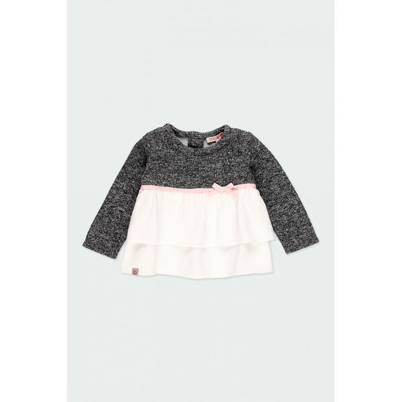 Детска комбинирана блуза Boboli за момичета - 241007-8116 - view 1