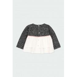 Детска комбинирана блуза Boboli за момичета - 241007-8116 - view 3