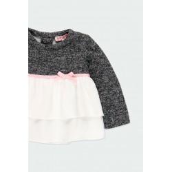 Детска комбинирана блуза Boboli за момичета - 241007-8116 - view 4