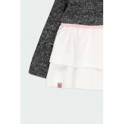 Детска комбинирана блуза Boboli за момичета - 241007-8116 - view 5