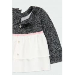 Детска комбинирана блуза Boboli за момичета - 241007-8116 - view 6
