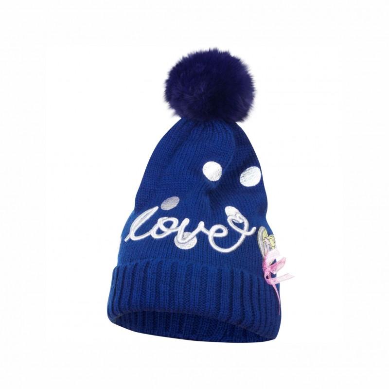 Детска зимна шапка Frozen (Замръзналото кралство) за момичета - HS4194 blue - view 1