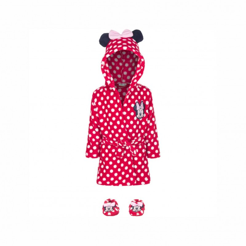 Халат Minnie Mouse (Мини Маус) за бебе момиче - HQ0329 red - view 1