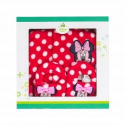 Халат Minnie Mouse (Мини Маус) за бебе момиче - HQ0329 red - view 2